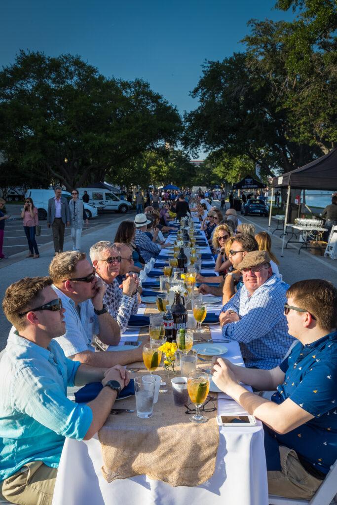 WUSF Longest Table 2018-4717
