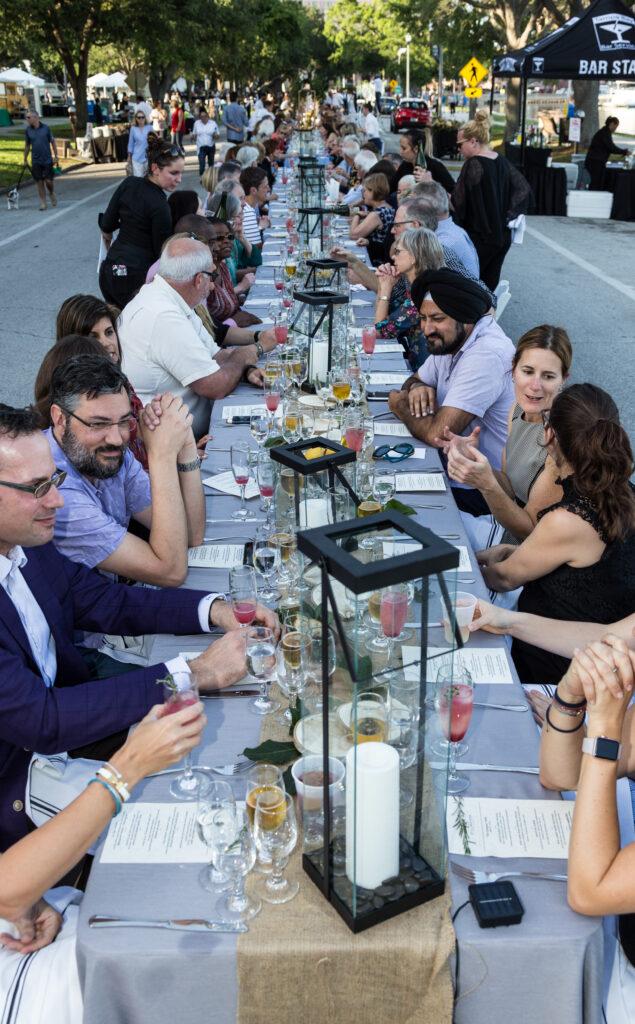 WUSF Longest Table 2018-4733